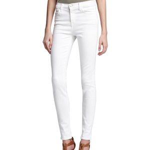 J Brand Maria High Rose Blanc Skinny Jeans Size 30